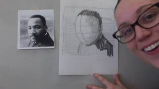 How to Draw Martin Luther King Jr.!