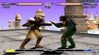 Star Wars Masters of Teras Kasi PS1 (Hoar) Part 1 Arcade Mode HD