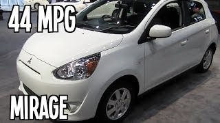 2014 Mitsubishi Mirage Interior Exterior Features
