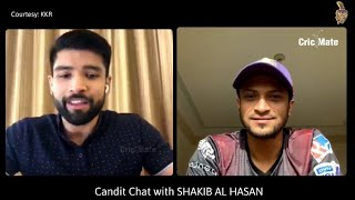 """Shakib on his return to KKR"" 