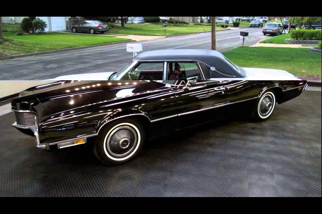 1970 ford thunderbird - YouTube