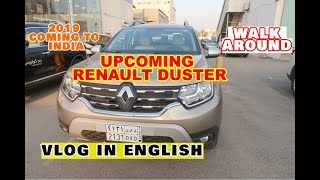 #UpcomingRenaultDuster #2019RenaultDuster SUV in #RENAULTIndia Vlog in English