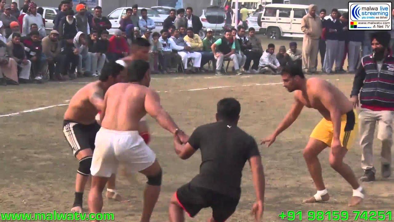 HAZARA (Jalandhar) Kabaddi Cup - 2014 Part 1st.