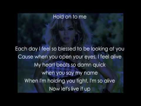 Beyonce - Blue (Lyrics)