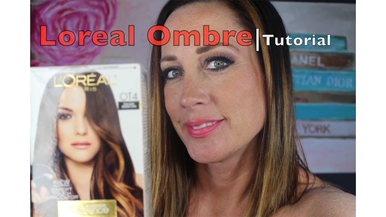 Loreal How To Ombre Hair Coloring Tutorial Diy Root Touch