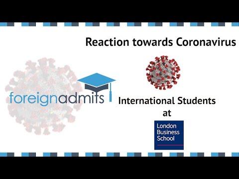 How Coronavirus Will Impact International Students? | Ep3 - MFA, (LBS) | [ForeignAdmits]