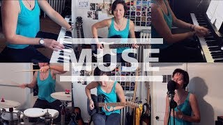 Muse - Algorithm | One Girl Band Cover