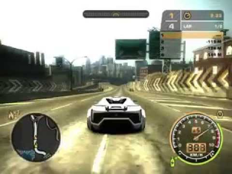 Merveilleux NEED FOR SPEED MW 2005 LYKAN HYPERSPORT TOP SPEED   YouTube