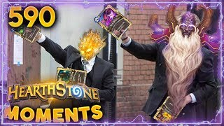 Lyra And Velen DESTROYING!! | Hearthstone Daily Moments Ep. 590