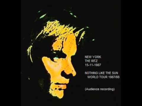 "STING - New York 15-11-1987 ""The Ritz"" USA (Audience Recording)"