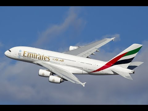 INFINITE FLIGHT - a380-800 da emirates decolagem e pouso.