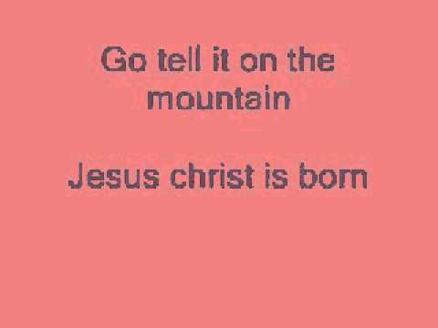 Go Tell It on the Mountain - Simon & Garfunkel (Lyrics)