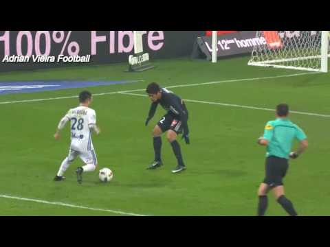 Mathieu Valbuena-Skills and Goals Olympique Lyonnais 2016-17