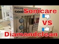 Flex Care Sonicare ToothBrush Review & Comparison to DiamondClean (Premium Whitening Edition)
