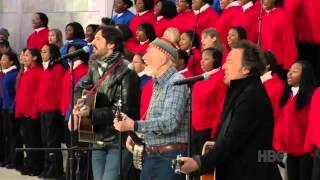 Pete Seeger & Bruce Springsteen - This Land is Your Land - Obama Inauguration