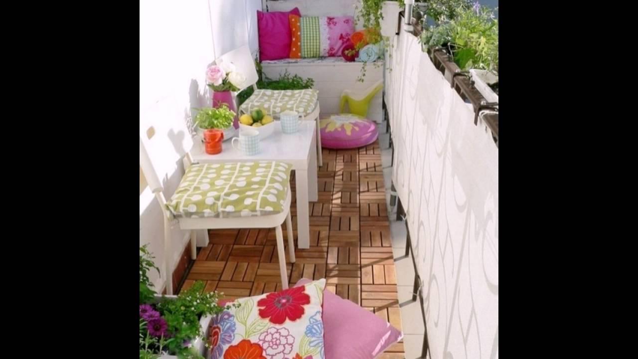 Balkon Einrichten holz fliesen balkon einrichten ideen für balkon exterior