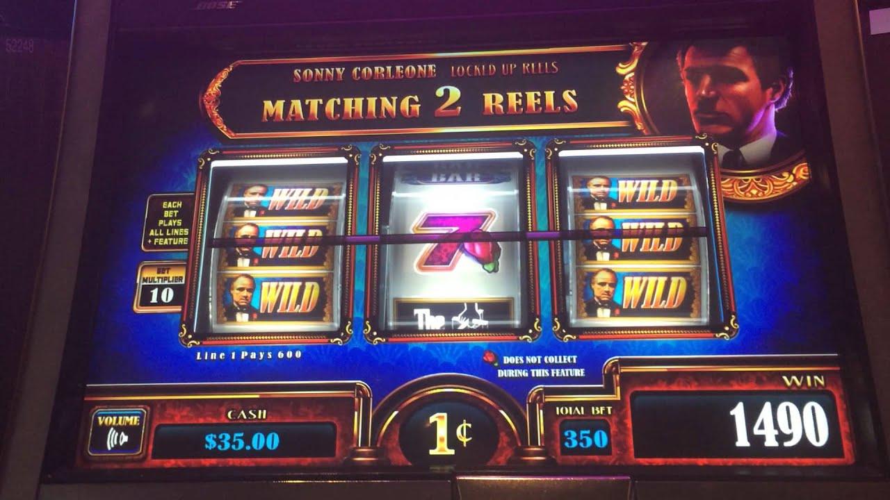 Godfather slot machine jackpot