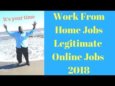 WORK FROM HOME JOBS LEGITIMATE ONLINE JOBS 2018