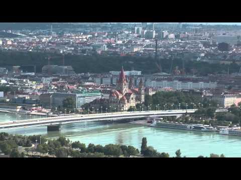 AUSTRIA - Vienna - Danube Tower
