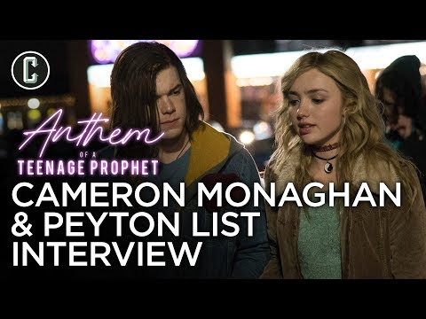 Peyton List & Cameron Monaghan - Anthem of a Teenage Prophet Interview