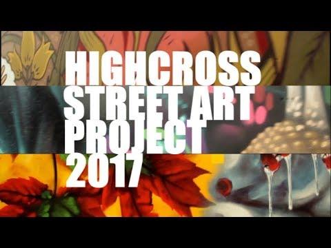 Highcross Street Art Project - Leicester