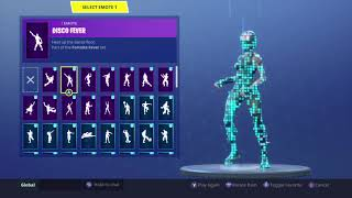 "Fortnite NEW ""Redline"" Skin Showcased With 50 Emotes/Back Blings l Season 5"