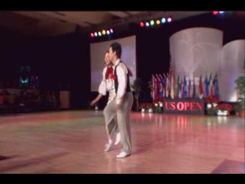 US Open Swing Dance Championships 2009  Minn Vo and Angel Jenkins