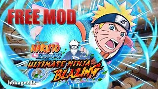 NARUTO SHIPPUDEN: Ultimate Ninja Blazing 1.9.0 MOD APK - God Mode/High Attack