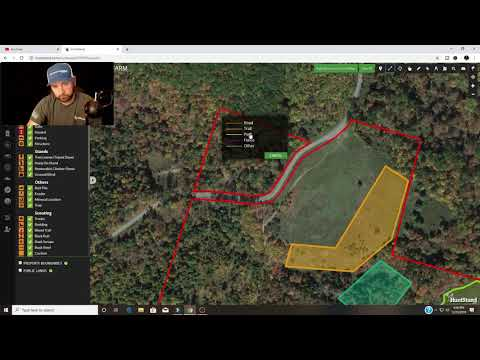 How To Set Up New Deer Hunting Land With Hunt Stand!
