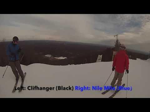 Camelback Christmas Eve Skiing (Nile Mile+ UPPER CLEOPATRA)