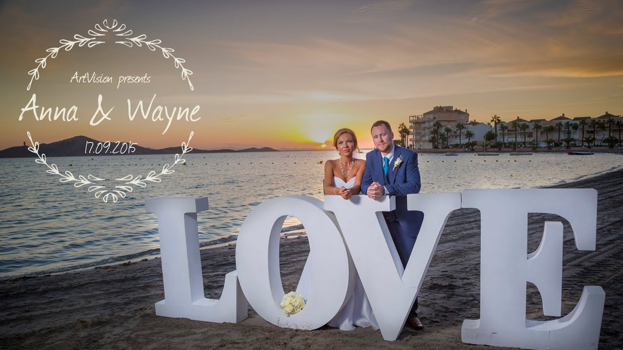 Wedding Video In Spain Costa Blanca Videographer Artvision Planner Lyndyloo
