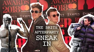 Sneaking into The Brit awards 2018 Afterparty - The Accidental Nightscape