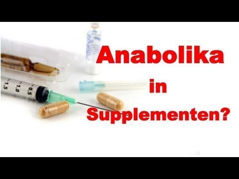 Anabolika und Doping in Supplementen? - Klner Liste