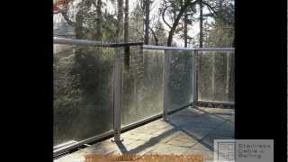 Deck Railing Amazing Transformation From Glass To Cable Rail Call Toll Free 1-888-686-7245