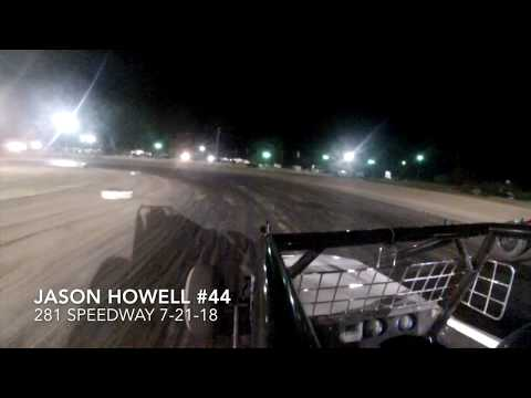 Jason Howell at 281 Speedway 7 21 18