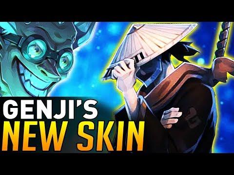Overwatch | Genji Samurai Skin Revealed (NEW COMIC!)