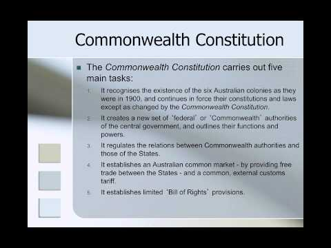 LWS011 Week 1 Australian Legal System