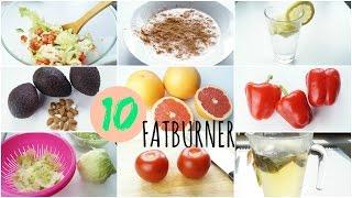 10 FATBURNER Lebensmittel | mehr Fett verbrennen