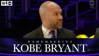 Derek Fisher and D-Wade Reflect on Kobe's Life and Legacy | NBA on TNT