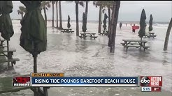 High water at Clearwater Beach