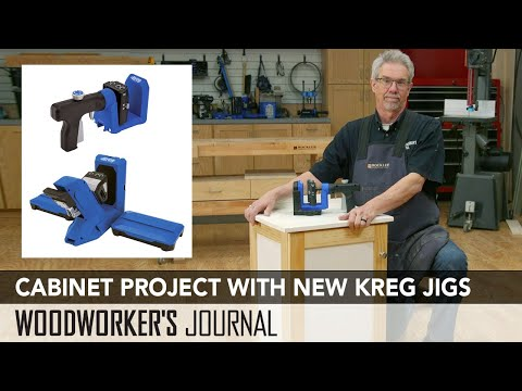 Build a Cabinet with the New Kreg 520PRO and 720PRO Jigs