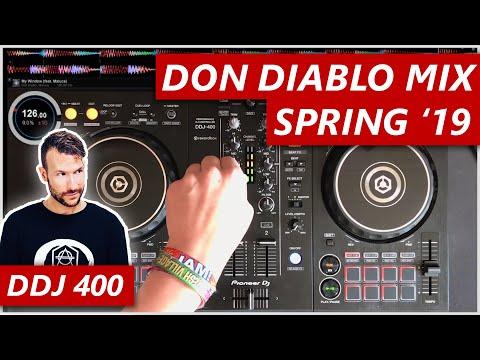 Don Diablo Live Mix - Spring 2019 - DDJ 400
