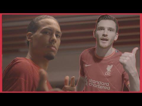 Van Dijk & Robertson's behind-the-scenes 2021/22 LFC kit vlog