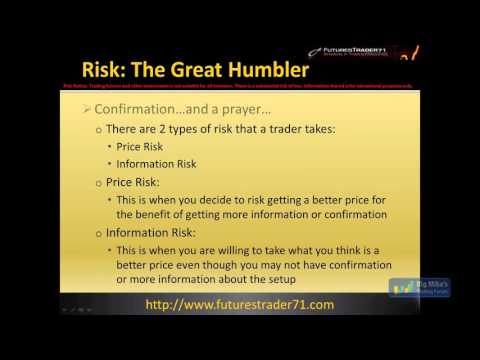 FuturesTrader71 on Risk, Scaling, Probabilities and Trade Management