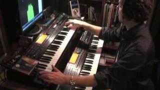 Roland Juno-G Demo-Song Flange Dream + Guitarsolo/ Groove007 MPEG-4