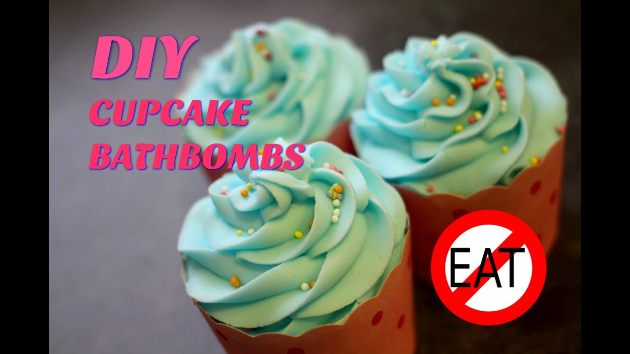 Diy cupcake bath bombs youtube solutioingenieria Choice Image