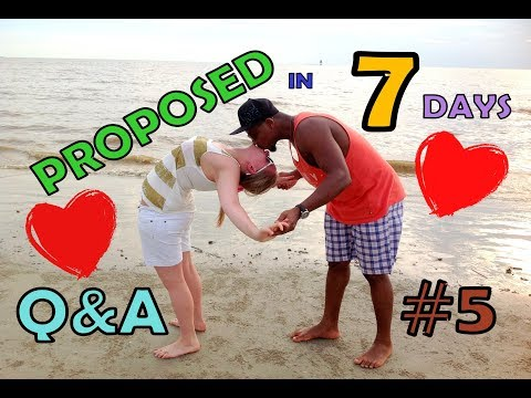 It took him 7 DAYS to PROPOSE !    Q&A #5