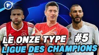 VIDEO: Le onze type de la Ligue des Champions #5