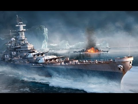 World of Warships-USS Iowa vs 2 IJN Yamato's