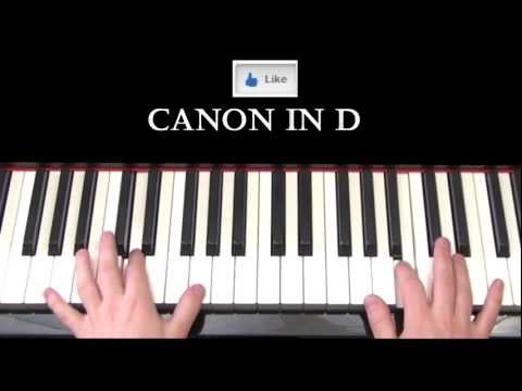 Can in D Pachelbel Piano   Ryan Jes